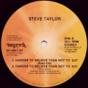 [Image: 'Harder To Believer Than Not To' Album]